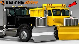 THE BEST PLOW IN BEAMNG (MOD) - BeamNG Drive