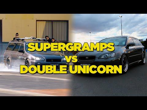 Supergramps vs Double Unicorn - Drag Race