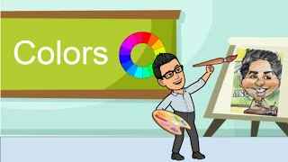 Colors- Lesson on Primary, Secondary, & Tertiary Colors