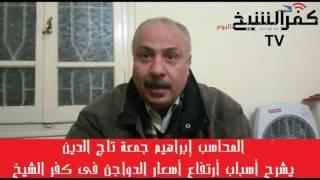 كفر الشيخ اليوم :صاحب بورصة دواجن فى كفر الشيخ يعرض أسباب أرتفاع أسعار الدواجن