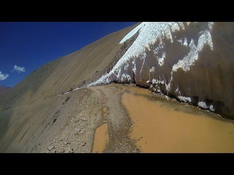 PASO AGUAS NEGRAS EN MOTOCICLETA  -- ARGENTINA-CHILE -- 4800 mts