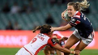 NRLW Highlights: Sydney Roosters v St George Illawarra Dragons - Round 3