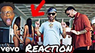 Maluma - Vitamina (Official Video) ft. Arcangel REACTION
