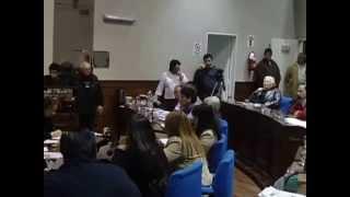Homenaje del Concejo Deliberante de Avellaneda a nuestro querido Prof. Dr. Miguel Falasco. 8/8/2014