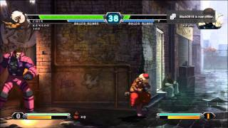 King of Fighters XIII (13) PS3 gameplay by SouthShallRise