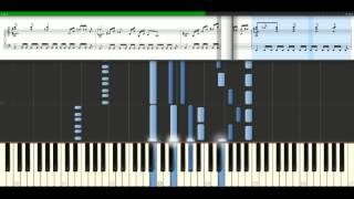 Cascada - Truly madly deeply [Piano Tutorial] Synthesia