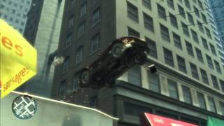 All GTA 4 STUNT JUMPS in HD