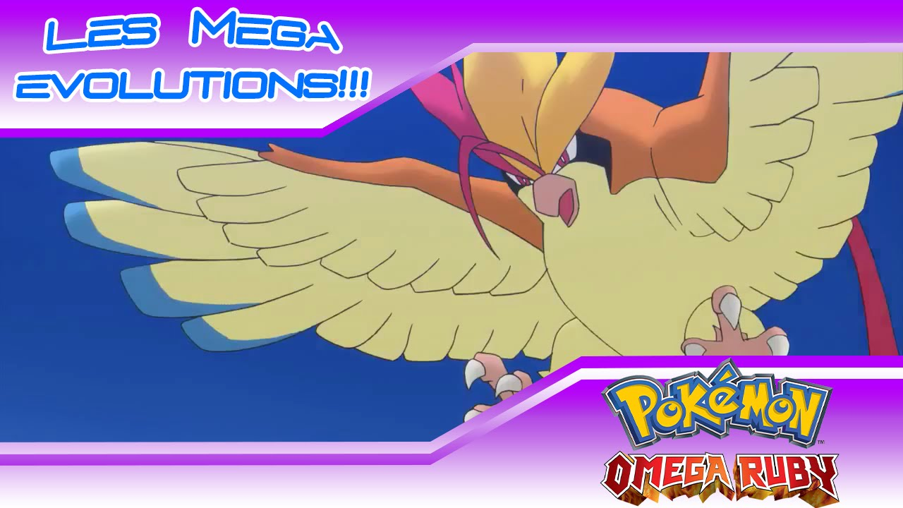 Toutes les primo resurgences et les mega evolutions pokemon rubis omega saphir alpha youtube - Pokemon version rubis evolution ...