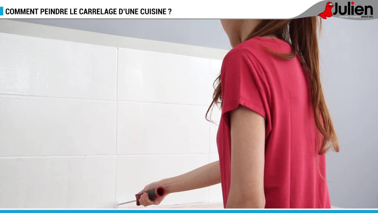 Comment Peindre Le Carrelage Du0027une Cuisine ?   Peintures Julien   YouTube