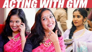EXCLUSIVE: Wearing Saree, GVM , Queen – Anikha Opens up | Viswasam