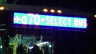 nycta mta bus new flyer xd 40 orion vii og and ng nova lfsa bus action laguardia airport terminal b