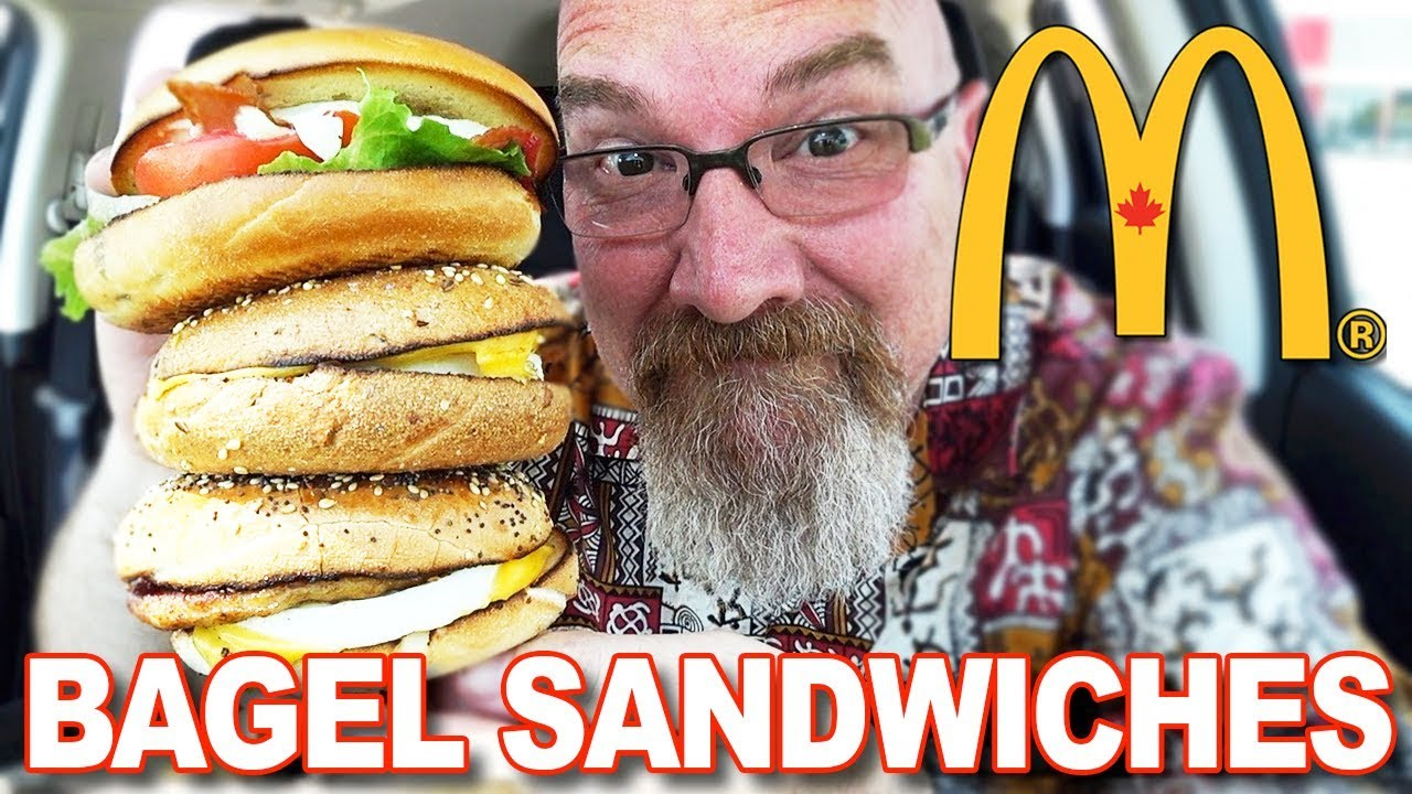 McDonald's New Bagel Sandwiches | All Day at McDonald's®