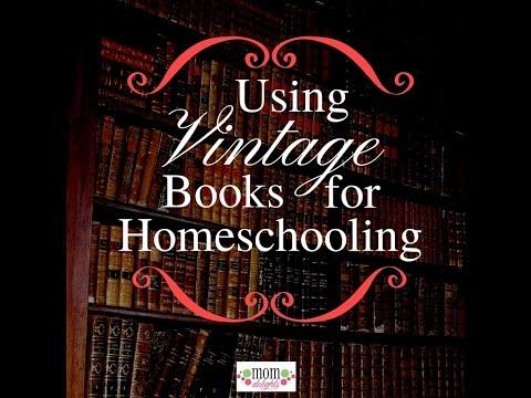 Using vintage books for homeschooling
