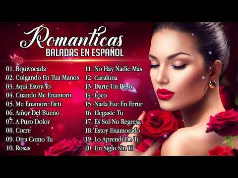 Baladas Pop Romanticas para trabajar y concentrarse 2019 💘 a Pop Romantica en Español Viejitas