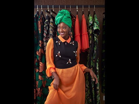 24 Hours With Afua Rida | GT Bank Fashion Weekend