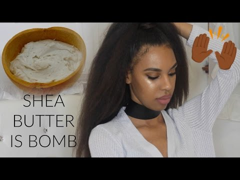 AFRICAN SHEA BUTTER IS EVERYTHING | Hair, Skin, and Health benefits!