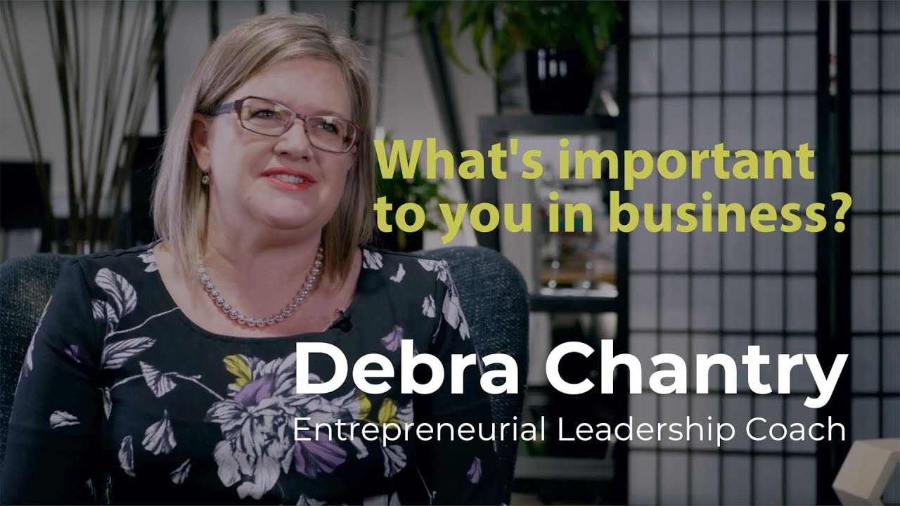 What's important to you in business?