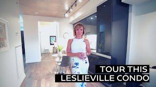 Tour this Leslieville Condo
