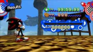 Sonic Generations mod: SA2 Shadow in Sky Rail