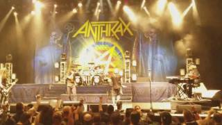 Anthrax - Carry On My Wayward Son (Kansas cover) @the Wiltern theater.