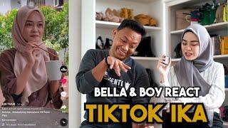 Bella & Boy React TikTok ' AI TEAM & IKAA !!! ' Sweetnya TikTok IKAA...