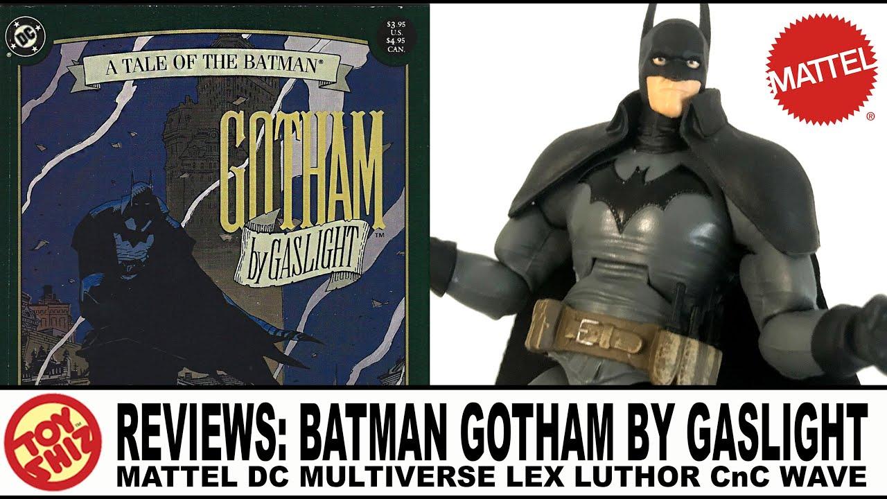 """DC Multiverse Batman Gotham By Gaslight 6/"""" Figure No Lex Luthor BAF"""