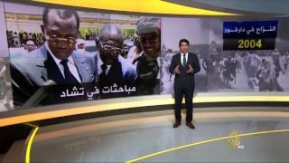 خريطة النزاع في دارفور