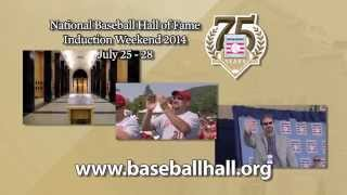 Baseball Hall of Fame 2014 Induction Promotional Spot
