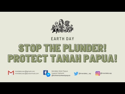 Papuan women call for support on #EarthDay 21 Apr 2021