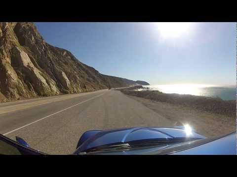 Driving Down the California Coastal Highway 1 in my RX-8 R3 using my GoPro Hero2