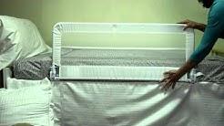 Harrogate Bed Rail [White, 771]