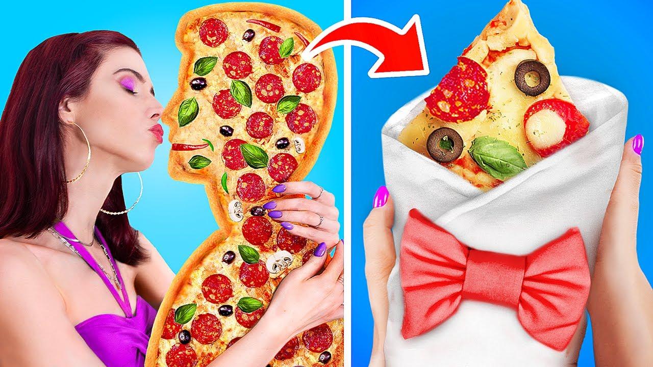 Thử Thách Pizza 24 Giờ / Thử Thách Đồ Ăn