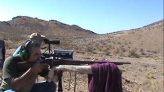 1,000 yards 1942 91/30 Russian Mosin-Nagant (P/U) sniper rifle