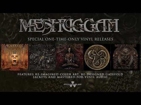 MESHUGGAH - Special Vinyl Releases: Remastered & Reimagined (OFFICIAL TRAILER)