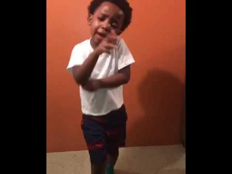 Kid Dances to OT genesis Push it