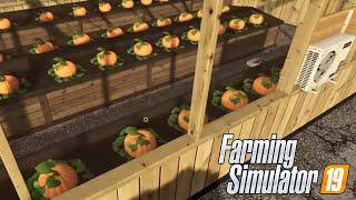 #91 - SERRA ZUCCHE PER HALLOWEEN - FARMING SIMULATOR 19 ITA RUSTIC ACRES