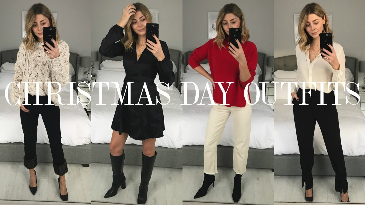 2c60f731328 Christmas Day Outfit Ideas| Try On | Vlogmas Day 9