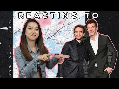 Reacting To Shawn Mendes & Zedd's LOST IN JAPAN (REMIX)