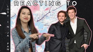 Reacting to Shawn Mendes & Zedd's LOST IN JAPAN (REMIX) Video