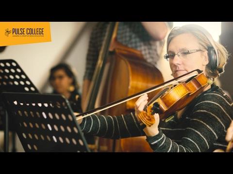 MA in Scoring 29-Piece Orchestra Recording Nov '16 | Pulse College