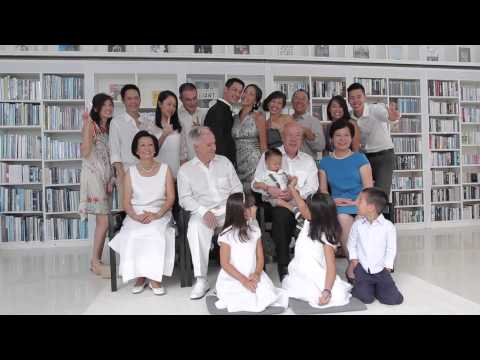 The Wedding Philipp & Vicki The Library Samui - Thailand ( Long Video Part 1 )
