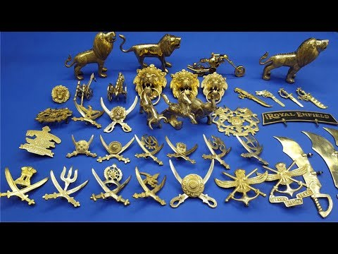 Brass Accessories for royal enfield modified | Brass Keys | Brass Number Plates | #xtremz