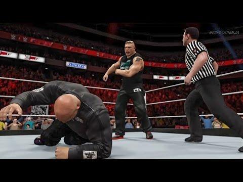 Brock Lesnar confronts Goldberg on Monday Night Raw! (WWE 2K17 Custom Storyline)