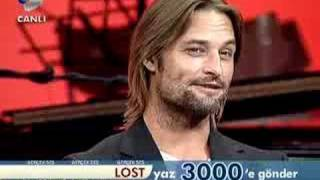 beyaz show   josh holloway   sawyer  1
