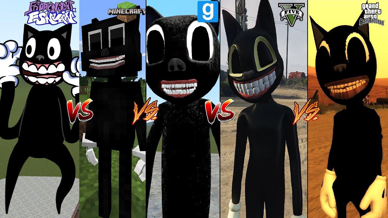 FNF CARTOON CAT VS MINECRAFT CARTOON CAT VS GTA 5 CARTOON CAT VS GMOD CARTOON CAT VS GTA SA TOON CAT