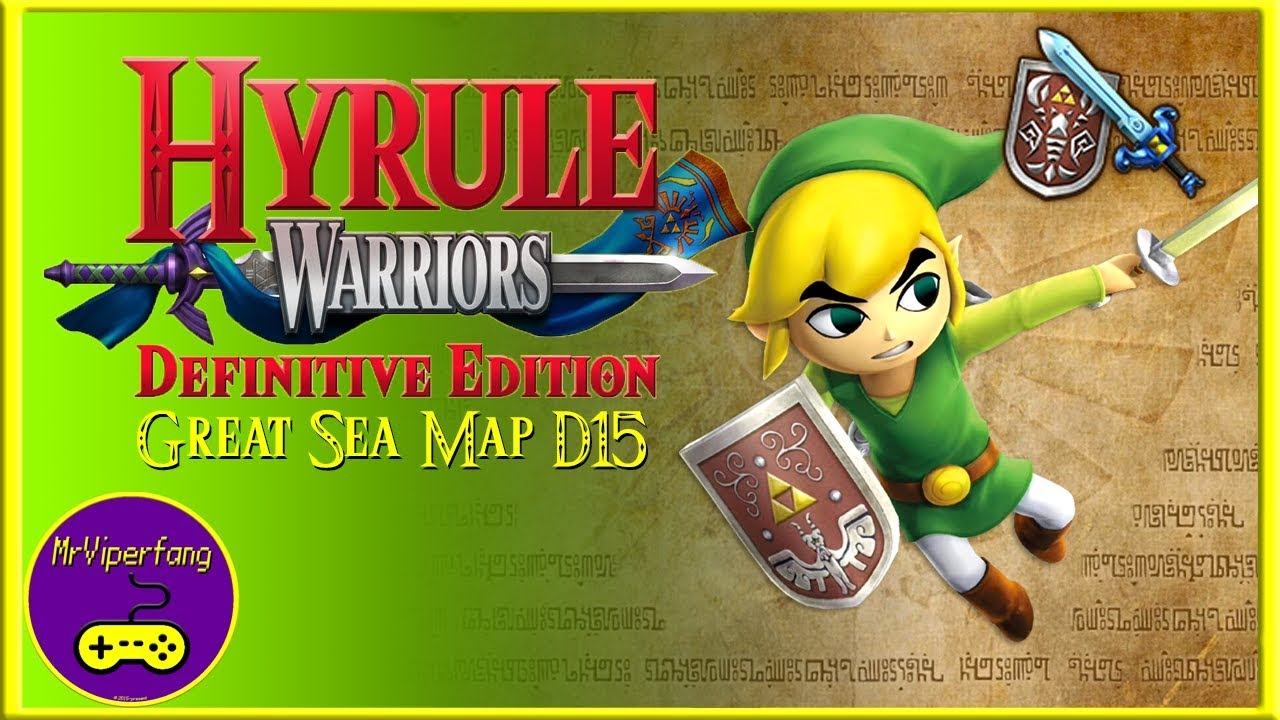 Hyrule Warriors Switch Great Sea Map D15 Obtaining Toon Link S Phantom Sword Youtube