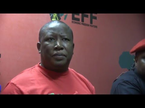 We will not sell SA to the Guptas over a curry - Malema's top five #Zupta quotes