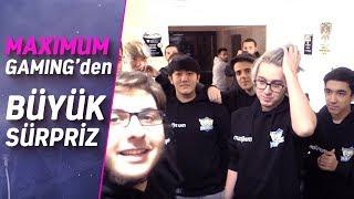 Maximum Gaming'in 1907 Fenerbahçe Oyuncularına ZeoNNN ile Birlikte Hazırladığı Büyük Sürpriz!