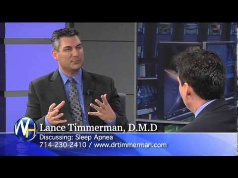 New Sleep Apnea Treatment, Lance Timmerman, DMD, Huntington Beach Dentist.
