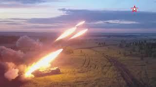 На Урале в ходе внезапной проверки ЦВО «Ураганы» применили «артиллерийскую карусель» видео